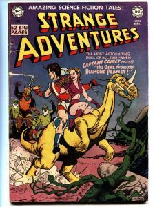 Strange Adventures #12 comic book 1951-DC-sci-fi thrills-Captain Comet-VG+