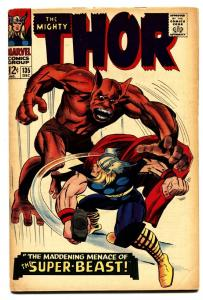 THOR #135 comic book  fn 1966-MARVEL COMICS-KIRBY Silver-Age