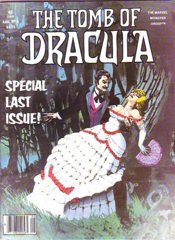 Tomb of Dracula Magazine #6 (Aug-80) FN/VF- Mid-High-Grade Dracula