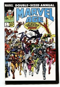 Marvel Age Annual #1 comic book 1985 2nd appearance of Silver Sable