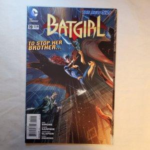 Batgirl 19 Near Mint-  Cover by Eddy Barrows