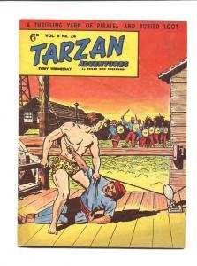 TARZAN ADVENTURES 8 #24-1958-SEPTEMBER-HAL FOSTER ART FN/VF