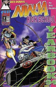 Ninja High School Yearbook #6 VF/NM; Malibu | save on shipping - details inside