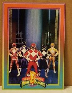 1994 Mighty Morphin Power Rangers Foil #6