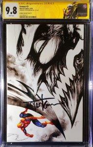 Venom #3 CGC 9.8 SS by Tyler Kirkham - 1st app of Knull, custom label cates