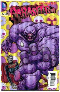 SUPERMAN #23.4, NM, Parasite, 3-D Lenticular cover, more DC in store