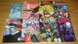 Jersey Devil #1-12 VF/NM complete set - south jersey comics - signed 7 8 9 10 11