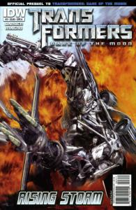 Transformers: Rising Storm #3A VF/NM; IDW | save on shipping - details inside