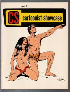 Cartoonist Showcase #6 1969-Tarzan by Russ Manning-Al Williamson-VF