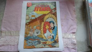 1985 DC COMICS THE NEW TEEN TITANS # 12