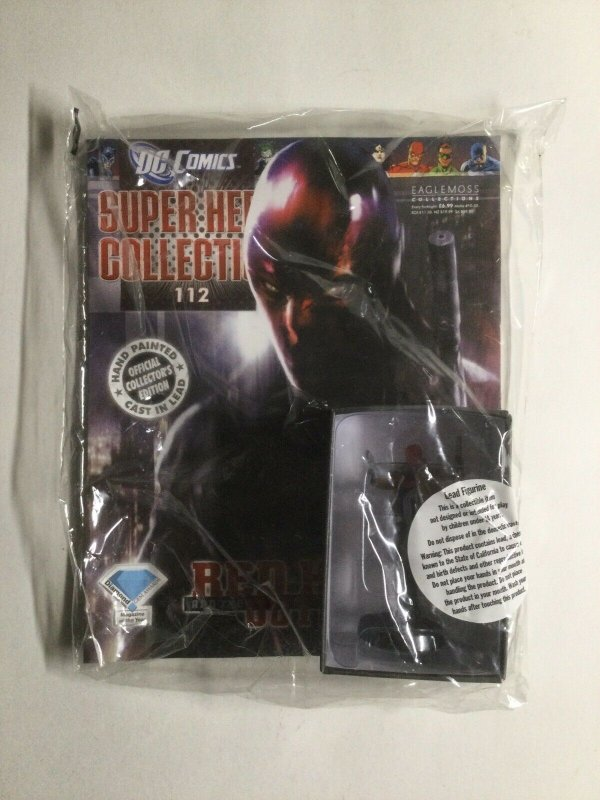 Red Hood and The Outlaws Figure and Magazine Super Hero Collection Eaglemoss