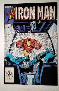 Iron Man #199 (1985) Marvel Comic Book J757