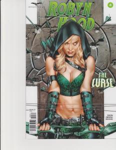 Robyn Hood The Curse #4 Cover C Zenescope Comic GFT NM Anacleto