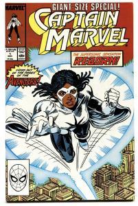 Captain Marvel #1 1989-1st issue-Marvel-comic book NM-