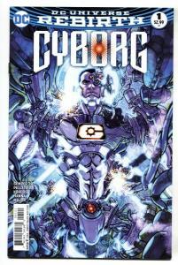 Cyborg: Rebirth #1 2016 DC comic book NM-
