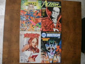 4 Comic Book: DC/MARVEL ACCESS #4 ACTION COMICS WEEKLY #625 MEKANIX #1 DC NATION