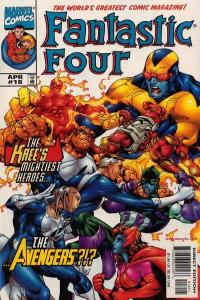 Fantastic Four (1998 series) #16, VF (Stock photo)