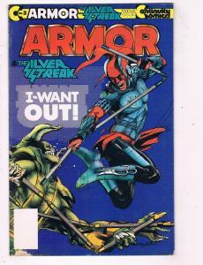 Armor #3 FN Continuity Comics Modern Age Comic Book 1993 DE48