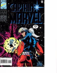 Lot Of 2 Captain Marvel Marvel Comic Book #1 2 Iron Man  AH4
