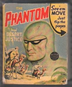 Phantom and Desert Justice BLB #1421 1941-Lee Falk-Ray Moore-VG