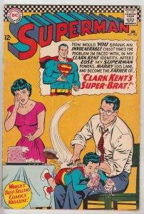 Superman #192 (Jan-67) VF High-Grade Superman, Jimmy Olsen,Lois Lane, Lana La...