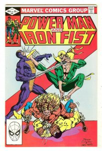 Power Man & Iron Fist 84  4th Sabretooth