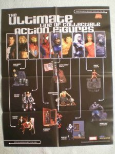 ULTIMATE LINE of AF Promo Poster, 22x28, 2003, Unused, more Promos in store