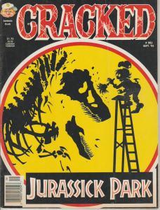 CRACKED #283 - HUMOR COMIC MAGAZINE