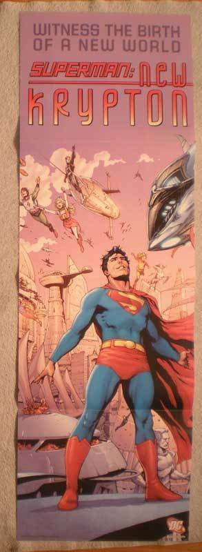 SUPERMAN: NEW KRYPTON Promo Poster, 2009, Unused, more in our store