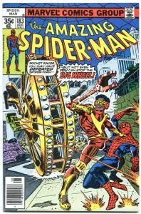 AMAZING SPIDER-MAN #183-1978-BIG WHEEL-MARVEL-SPIDEY!- VF/NM