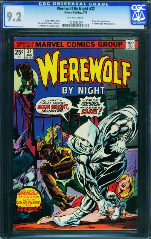 Werewolf by Night #32 First Moon Knight CGC 9.2 1225983004