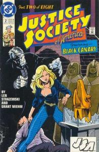 Justice Society of America (1991 series) #2, VF+ (Stock photo)