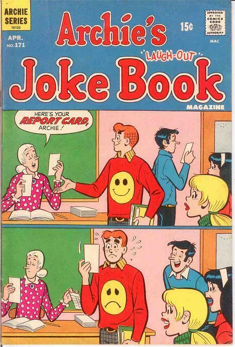 ARCHIES JOKE BOOK (1954-1982)171 F April 1972 COMICS BOOK