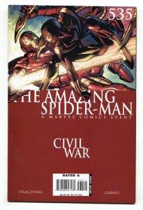AMAZING SPIDER-MAN #535  comic book Civil War avengers movie MCU