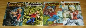 Badger: Shattered Mirror #1-4 VF/NM complete series MIKE BARON jill thompson set