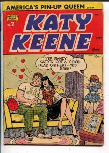 Katy Keene #7 1952-Archie-fashions-pin-ups-FN+