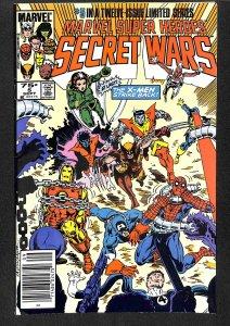 Marvel Super Heroes Secret Wars #5 (1984)