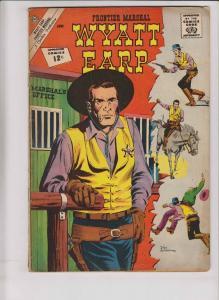 Wyatt Earp #42 VG june 1962 - silver age charlton - frontier marshal western