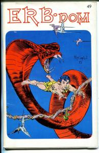 ERB-Dom #49 1971-Edgar Rice Burroughs fanzine-Tarzan-John Carter-FN