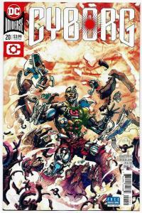 Cyborg #20 Rebirth Variant Cvr (DC, 2018) NM