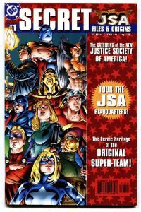 JSA Secret Files and Origins #1-1st Hawkgirl (Kendra Saunders) Atom-Smasher NM-