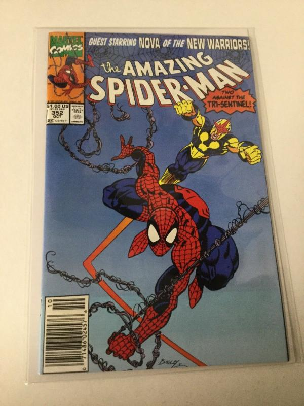 The Amazing Spider-Man 352 Nm Near Mint Marvel