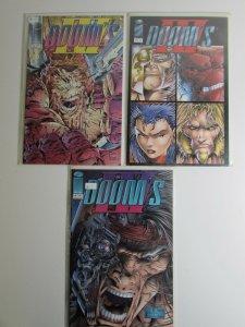 Doom's IV #2,3,4 Image Comics 1994 NM- Lot of 3 Comic Books 1st Print