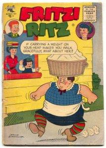 Fritzi Ritz Comics #52 1957- Golden Age G