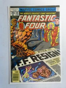 Fantastic Four (1st Series) #191, Newsstand Edition 6.0/FN (1978)