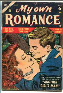 My Own Romance #38 1954-Atlas-Joe Maneely-first rate art-VG