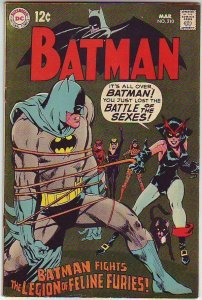 Batman # 210 Strict VF/NM- High-Grade Catwoman 1st The Legion of Feline Furies