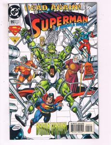 Superman #95 VF DC Comics Comic Book Jurgens 1994 DE16