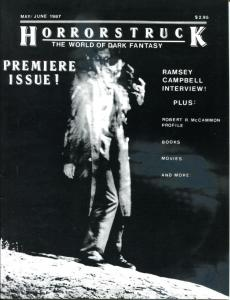 HORRORSTRUCK #1, VF, Ramsey Campbell, 1987, World of Dark Fantasy, Magazine