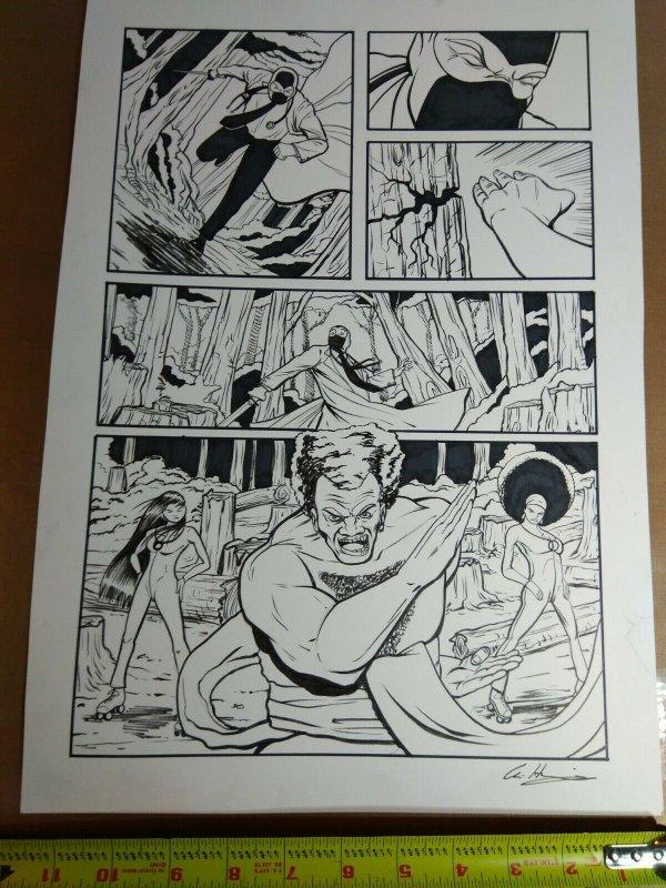 Original Art: Chris Hastings - Adventures Of Dr McNinja #10 Pg 42
